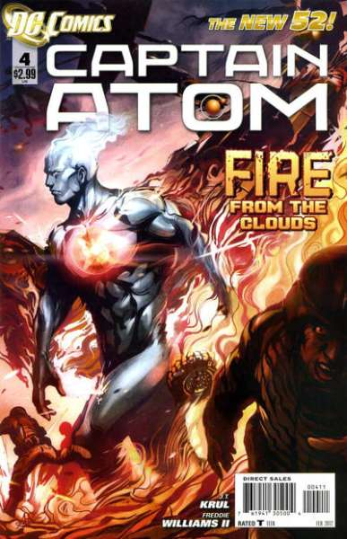 Captain Atom #4 Comic Books - Covers, Scans, Photos  in Captain Atom Comic Books - Covers, Scans, Gallery