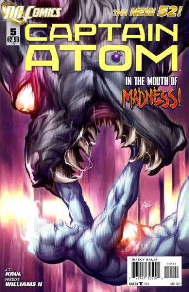 Captain Atom #5 comic books - cover scans photos Captain Atom #5 comic books - covers, picture gallery
