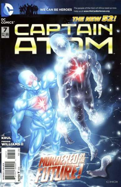 Captain Atom #7 Comic Books - Covers, Scans, Photos  in Captain Atom Comic Books - Covers, Scans, Gallery