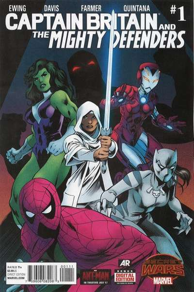 Captain Britain and the Mighty Defenders Comic Books. Captain Britain and the Mighty Defenders Comics.