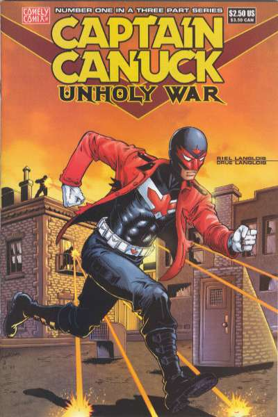 Captain Canuck: Unholy War #1 Comic Books - Covers, Scans, Photos  in Captain Canuck: Unholy War Comic Books - Covers, Scans, Gallery