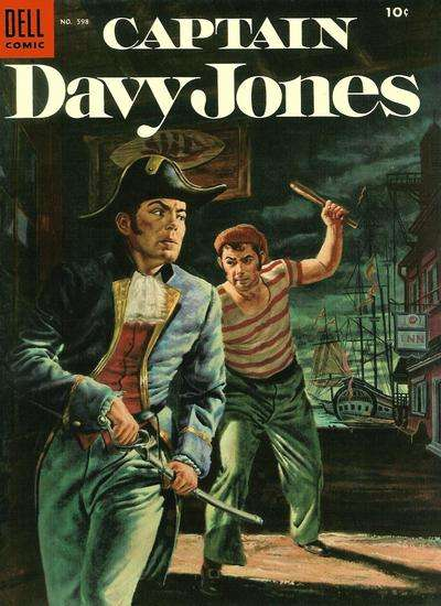 Captain Davy Jones #1 comic books - cover scans photos Captain Davy Jones #1 comic books - covers, picture gallery