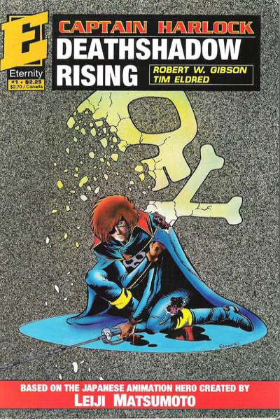Captain Harlock: Deathshadow Rising comic books