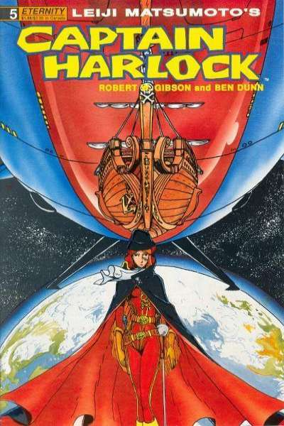 Captain Harlock #5 comic books for sale