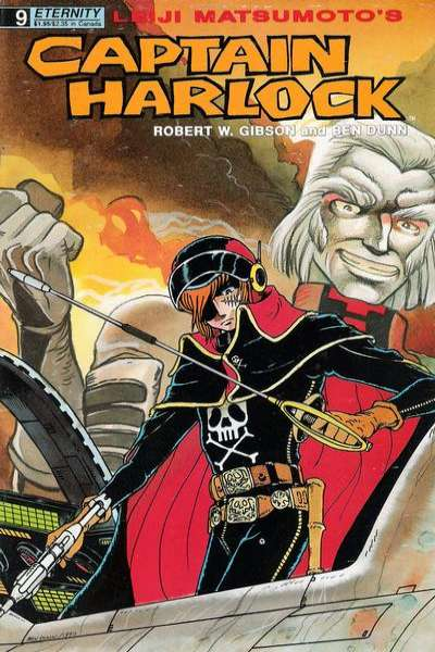 Captain Harlock #9 comic books for sale