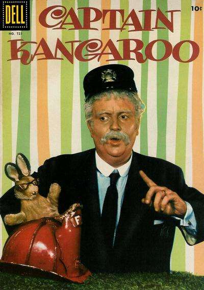 Captain Kangaroo comic books