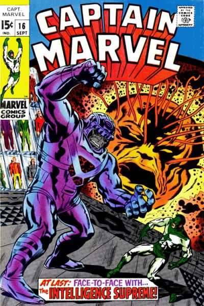 Captain Marvel #16 Comic Books - Covers, Scans, Photos  in Captain Marvel Comic Books - Covers, Scans, Gallery