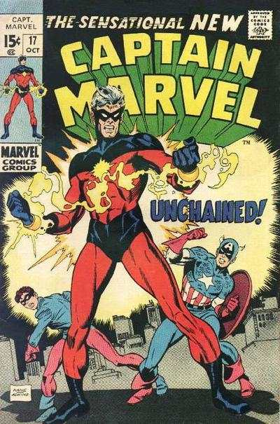 Captain Marvel #17 Comic Books - Covers, Scans, Photos  in Captain Marvel Comic Books - Covers, Scans, Gallery