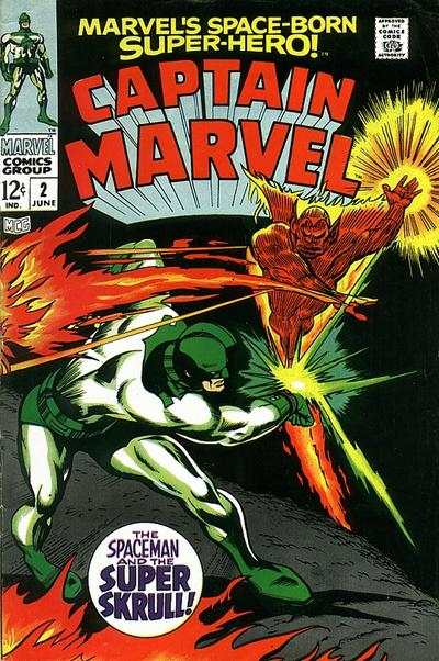 Captain Marvel #2 comic books for sale
