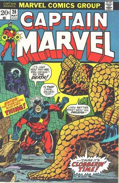 Captain Marvel #26 Comic Books - Covers, Scans, Photos  in Captain Marvel Comic Books - Covers, Scans, Gallery