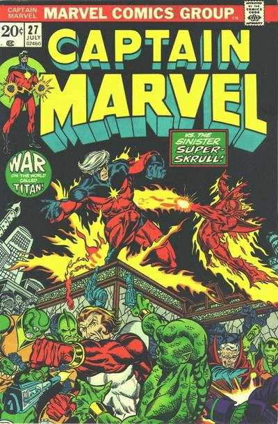 Captain Marvel #27 Comic Books - Covers, Scans, Photos  in Captain Marvel Comic Books - Covers, Scans, Gallery