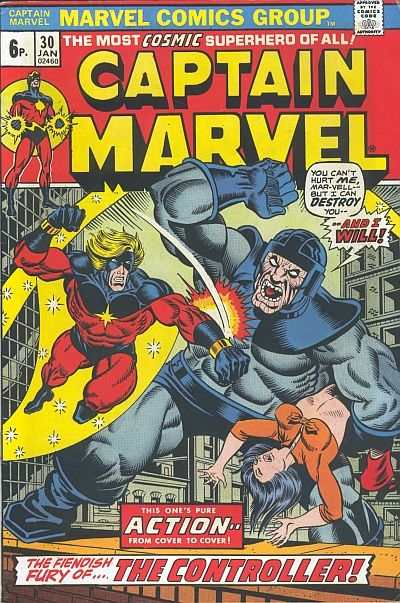 Captain Marvel #30 Comic Books - Covers, Scans, Photos  in Captain Marvel Comic Books - Covers, Scans, Gallery
