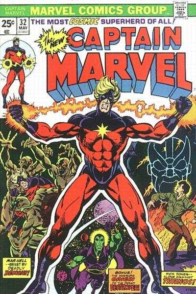 Captain Marvel #32 Comic Books - Covers, Scans, Photos  in Captain Marvel Comic Books - Covers, Scans, Gallery