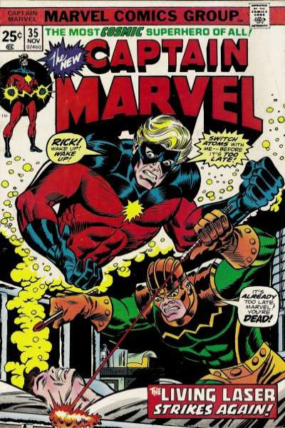 Captain Marvel #35 comic books for sale