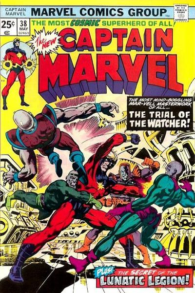 Captain Marvel #38 Comic Books - Covers, Scans, Photos  in Captain Marvel Comic Books - Covers, Scans, Gallery
