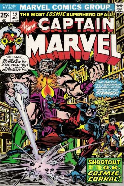 Captain Marvel #42 Comic Books - Covers, Scans, Photos  in Captain Marvel Comic Books - Covers, Scans, Gallery
