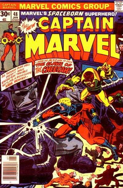 Captain Marvel #48 Comic Books - Covers, Scans, Photos  in Captain Marvel Comic Books - Covers, Scans, Gallery