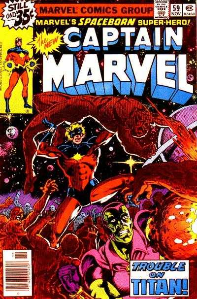 Captain Marvel #59 Comic Books - Covers, Scans, Photos  in Captain Marvel Comic Books - Covers, Scans, Gallery