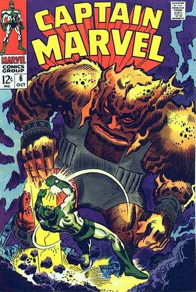 Captain Marvel #6 comic books for sale