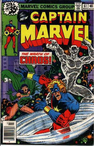 Captain Marvel #61 comic books - cover scans photos Captain Marvel #61 comic books - covers, picture gallery