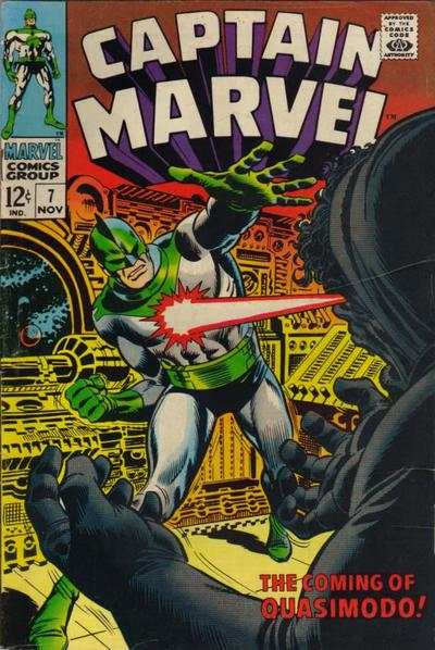 Captain Marvel #7 Comic Books - Covers, Scans, Photos  in Captain Marvel Comic Books - Covers, Scans, Gallery