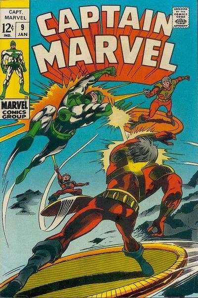 Captain Marvel #9 Comic Books - Covers, Scans, Photos  in Captain Marvel Comic Books - Covers, Scans, Gallery