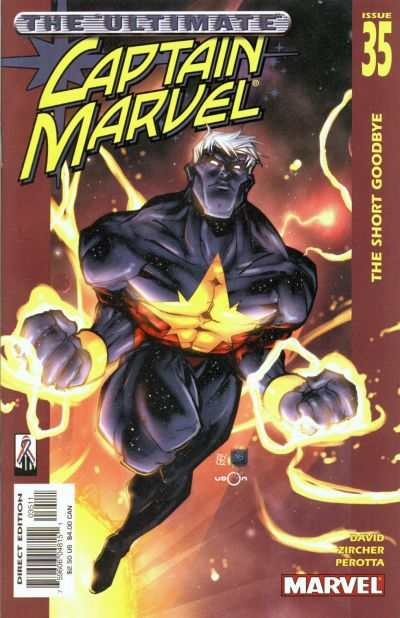 Captain Marvel #35 comic books - cover scans photos Captain Marvel #35 comic books - covers, picture gallery