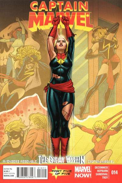 Captain Marvel #14 Comic Books - Covers, Scans, Photos  in Captain Marvel Comic Books - Covers, Scans, Gallery