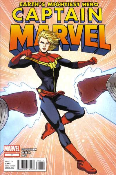 Captain Marvel #7 comic books - cover scans photos Captain Marvel #7 comic books - covers, picture gallery