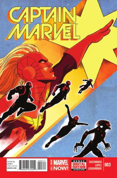Captain Marvel #3 comic books for sale