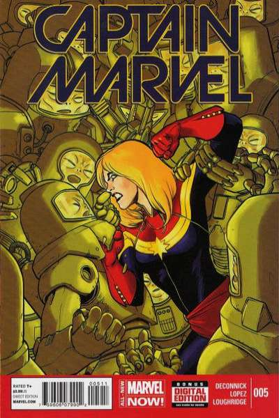 Captain Marvel #5 comic books for sale