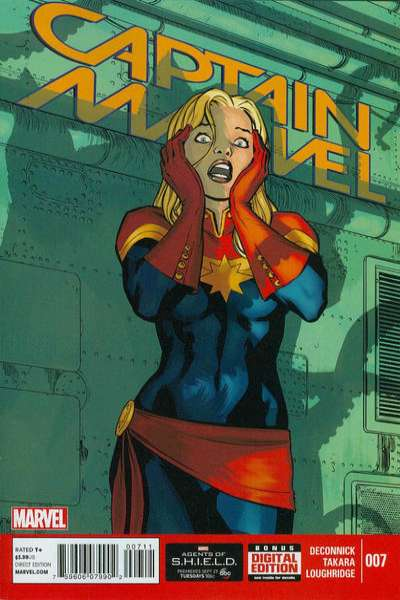Captain Marvel #7 comic books for sale