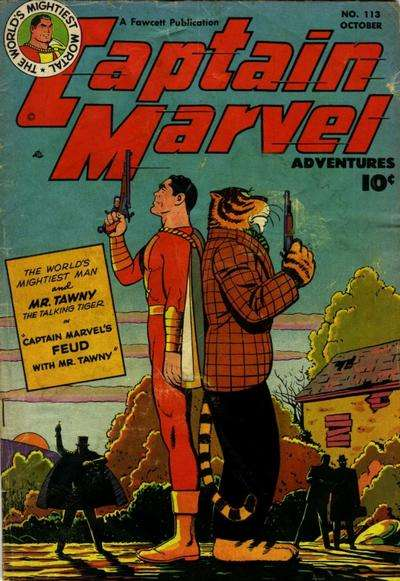 Captain Marvel Adventures #113 Comic Books - Covers, Scans, Photos  in Captain Marvel Adventures Comic Books - Covers, Scans, Gallery