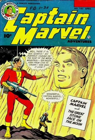 Captain Marvel Adventures #143 comic books - cover scans photos Captain Marvel Adventures #143 comic books - covers, picture gallery
