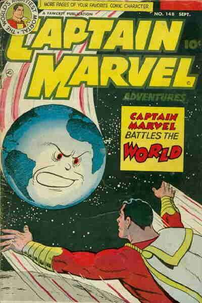 Captain Marvel Adventures #148 Comic Books - Covers, Scans, Photos  in Captain Marvel Adventures Comic Books - Covers, Scans, Gallery