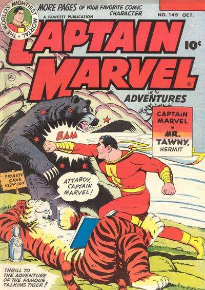 Captain Marvel Adventures #149 Comic Books - Covers, Scans, Photos  in Captain Marvel Adventures Comic Books - Covers, Scans, Gallery