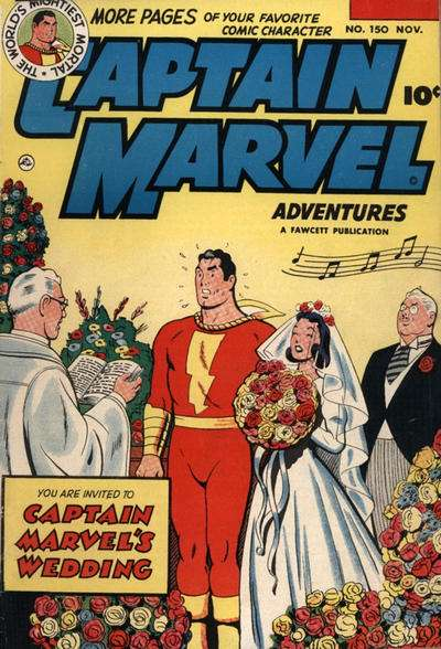 Captain Marvel Adventures #150 Comic Books - Covers, Scans, Photos  in Captain Marvel Adventures Comic Books - Covers, Scans, Gallery