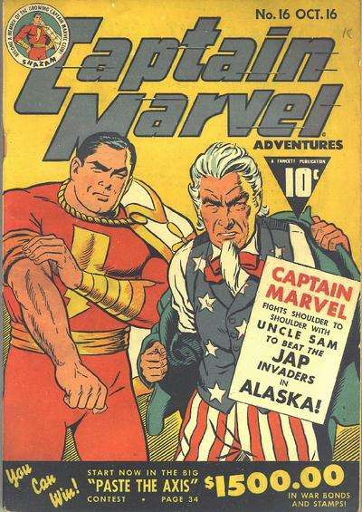 Captain Marvel Adventures #16 Comic Books - Covers, Scans, Photos  in Captain Marvel Adventures Comic Books - Covers, Scans, Gallery