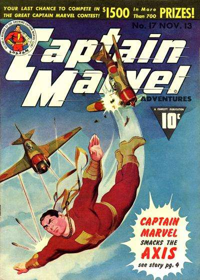 Captain Marvel Adventures #17 Comic Books - Covers, Scans, Photos  in Captain Marvel Adventures Comic Books - Covers, Scans, Gallery