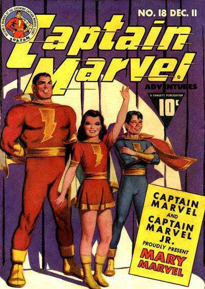 Captain Marvel Adventures #18 Comic Books - Covers, Scans, Photos  in Captain Marvel Adventures Comic Books - Covers, Scans, Gallery