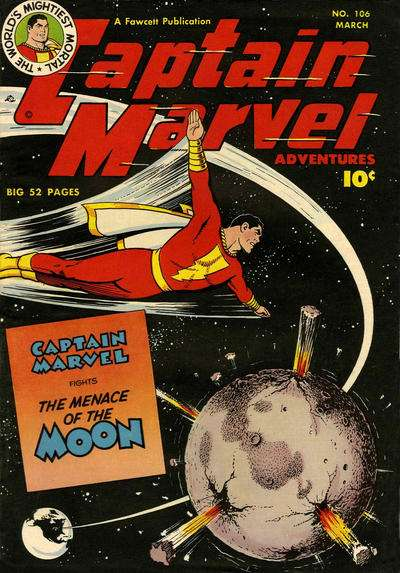 Captain Marvel Adventures #106 Comic Books - Covers, Scans, Photos  in Captain Marvel Adventures Comic Books - Covers, Scans, Gallery