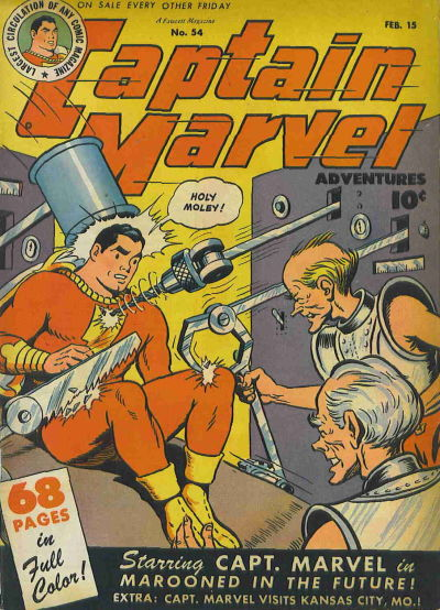 Captain Marvel Adventures #54 Comic Books - Covers, Scans, Photos  in Captain Marvel Adventures Comic Books - Covers, Scans, Gallery