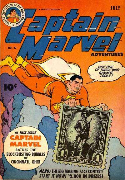 Captain Marvel Adventures #37 Comic Books - Covers, Scans, Photos  in Captain Marvel Adventures Comic Books - Covers, Scans, Gallery