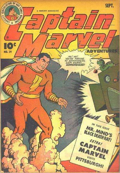 Captain Marvel Adventures #39 Comic Books - Covers, Scans, Photos  in Captain Marvel Adventures Comic Books - Covers, Scans, Gallery