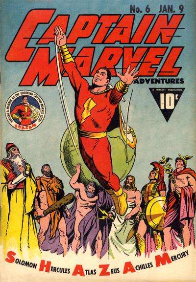 Captain Marvel Adventures #6 Comic Books - Covers, Scans, Photos  in Captain Marvel Adventures Comic Books - Covers, Scans, Gallery