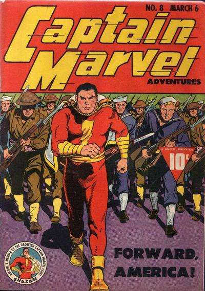 Captain Marvel Adventures #8 Comic Books - Covers, Scans, Photos  in Captain Marvel Adventures Comic Books - Covers, Scans, Gallery