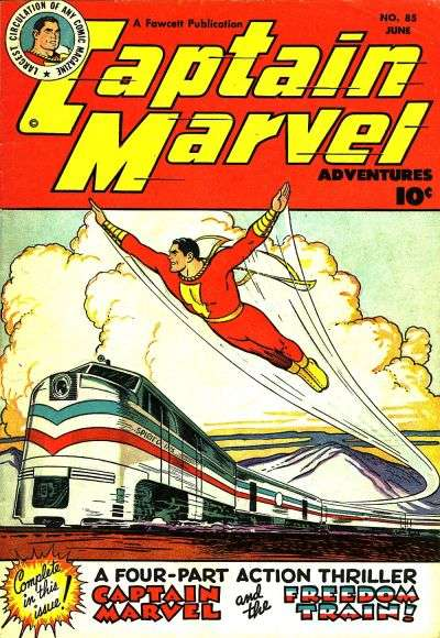 Captain Marvel Adventures #85 Comic Books - Covers, Scans, Photos  in Captain Marvel Adventures Comic Books - Covers, Scans, Gallery