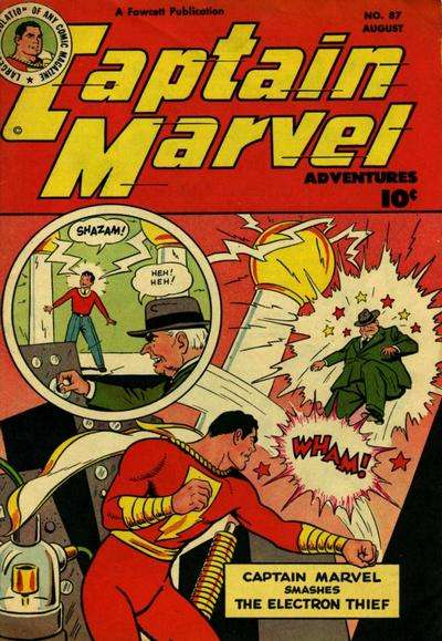 Captain Marvel Adventures #87 Comic Books - Covers, Scans, Photos  in Captain Marvel Adventures Comic Books - Covers, Scans, Gallery