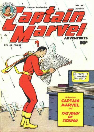Captain Marvel Adventures #99 Comic Books - Covers, Scans, Photos  in Captain Marvel Adventures Comic Books - Covers, Scans, Gallery