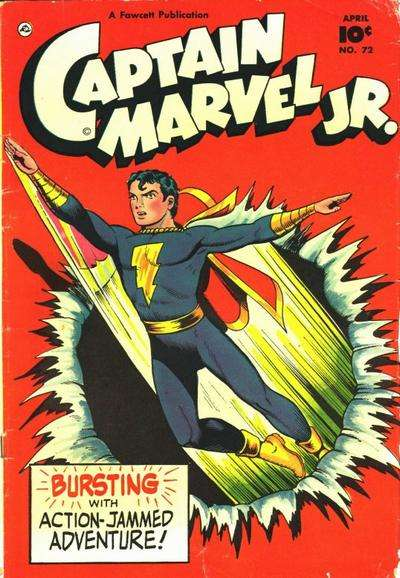 Captain Marvel Jr. #72 comic books for sale